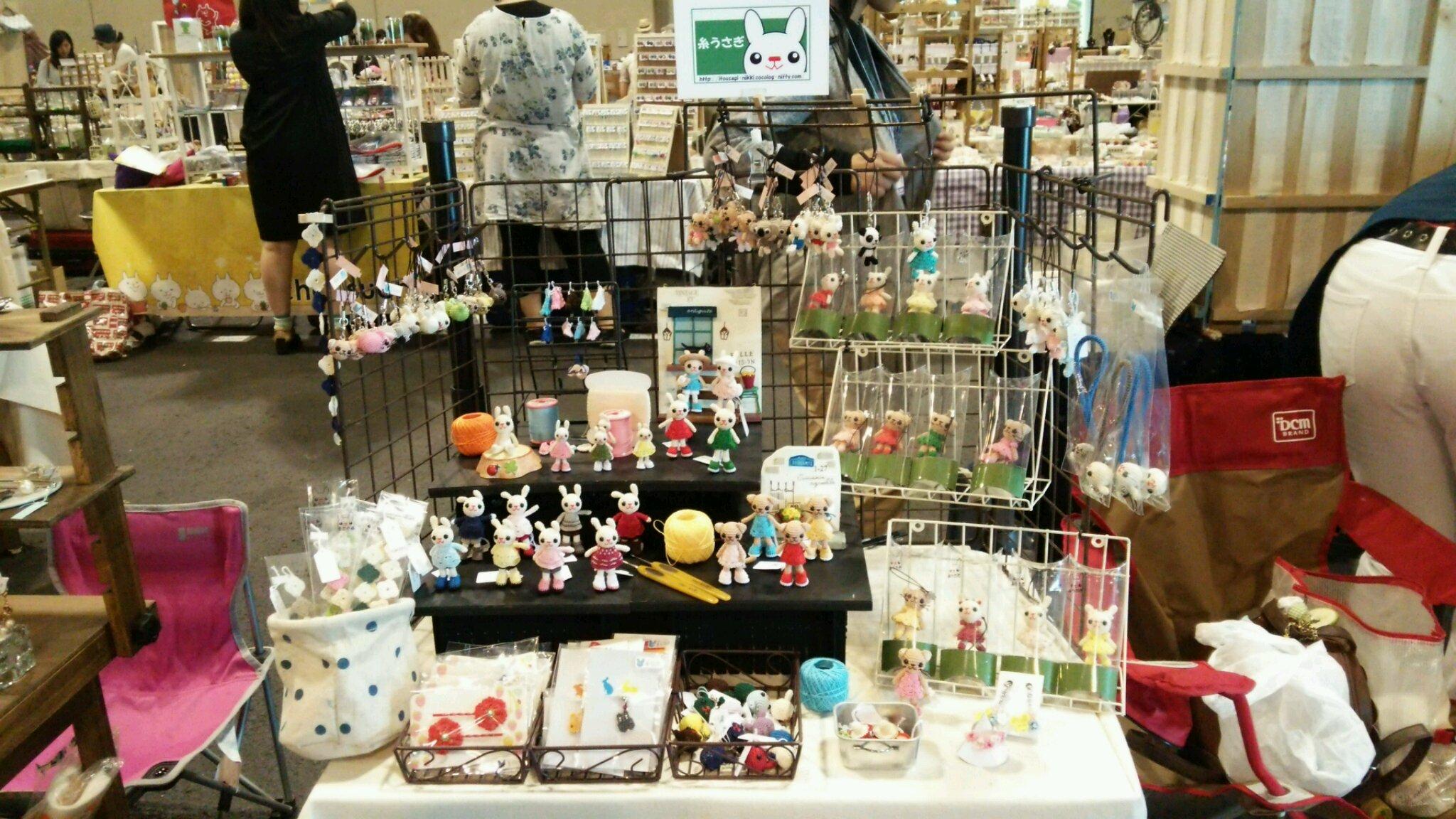 名古屋クリエイターズマーケット始まってます